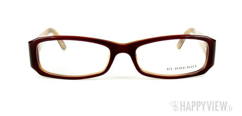 Lunettes de vue Burberry Burberry 2043 rouge - vue de face
