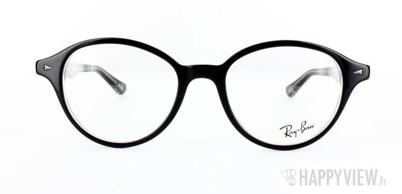Lunettes de vue Ray-Ban Ray-Ban RX5257 noir/gris - vue de face