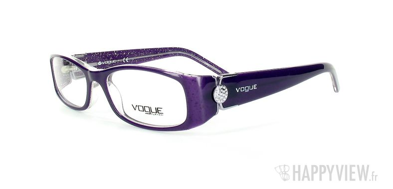 Lunettes de vue Vogue Vogue 2634B bleu - vue de 3/4