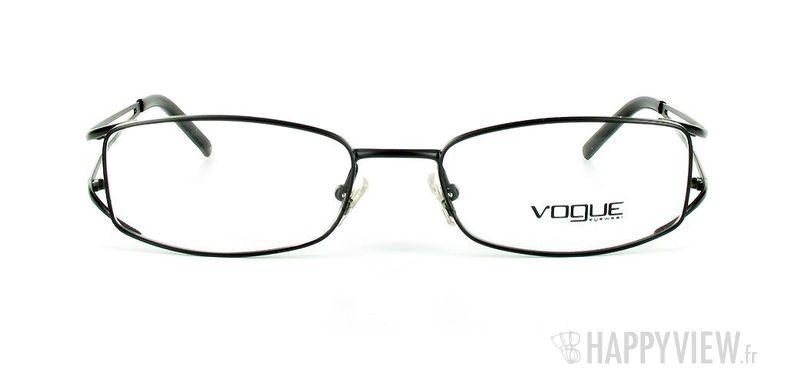 Lunettes de vue Vogue Vogue 3550 noir - vue de face