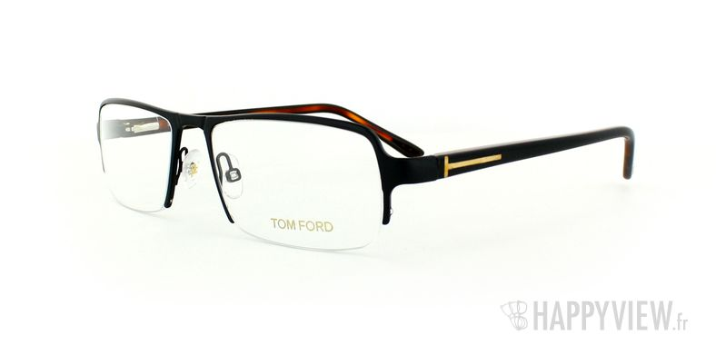Lunettes de vue Tom Ford Tom Ford 5110 Small noir - vue de 3/4