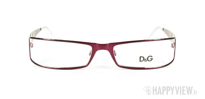 Lunettes de vue Dolce & Gabbana D&G 5003 rose - vue de face