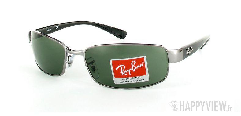 Lunettes de soleil Ray-Ban Ray-Ban RB3364 gris - vue de 3/4