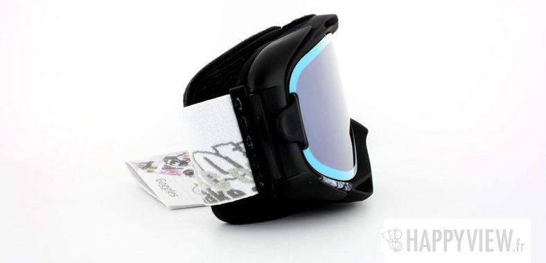 Lunettes de soleil Uvex Uvex Uvision Take Off (Par dessus vos lunettes) L bleu/noir - vue de côté