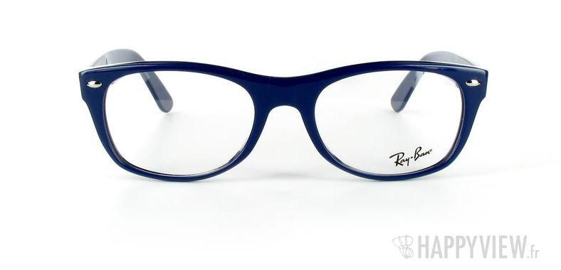 Lunettes de vue Ray-Ban Ray-Ban RX5184 New Wayfarer bleu - vue de face