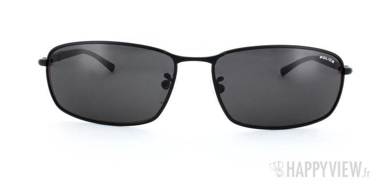 Lunettes de soleil Police Police S8650 noir - vue de face