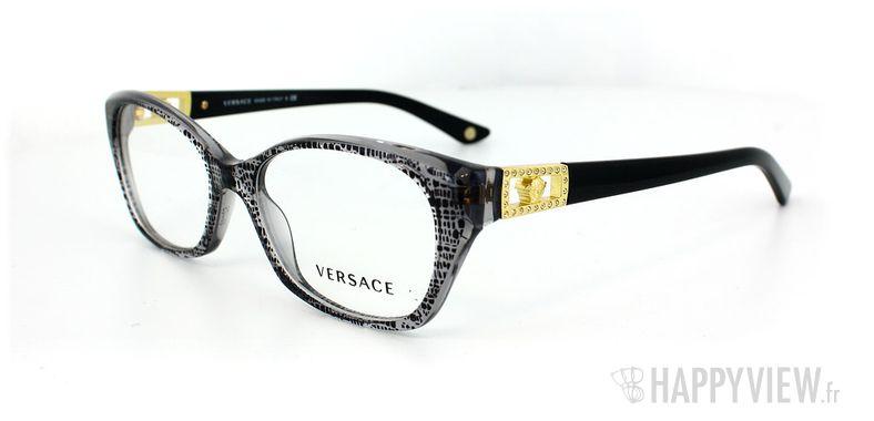 Lunettes de vue Versace Versace 3170B gris - vue de 3/4