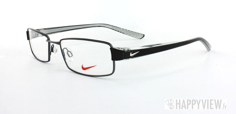 Lunettes de vue Nike Nike 8065 gris/noir - vue de 3/4