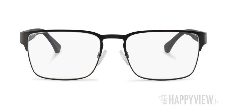 Lunettes de vue Emporio Armani EA 1027 noir - vue de face