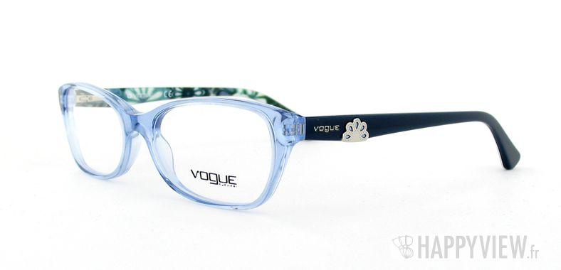 Lunettes de vue Vogue Vogue 2737 bleu/autre - vue de 3/4