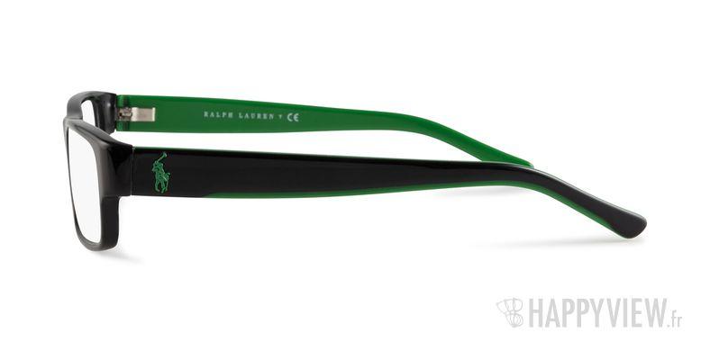 Lunettes de vue Polo Ralph Lauren PH 2058 vert/noir - vue de côté
