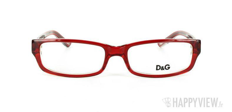 Lunettes de vue Dolce & Gabbana D&G 1167 rouge - vue de face