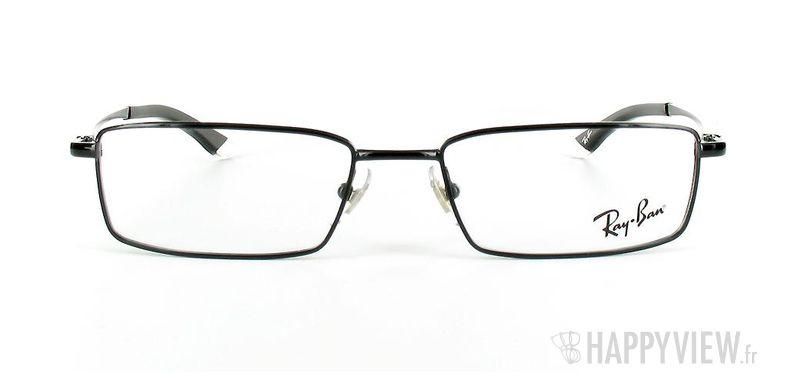 Lunettes de vue Ray-Ban Ray-Ban RX6114 noir - vue de face