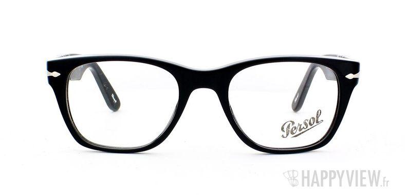 Lunettes de vue Persol Persol 3039V noir - vue de face