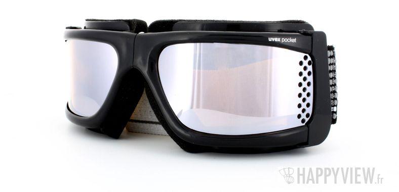 Lunettes de soleil Uvex Uvex Pocket Medium noir - vue de 3/4