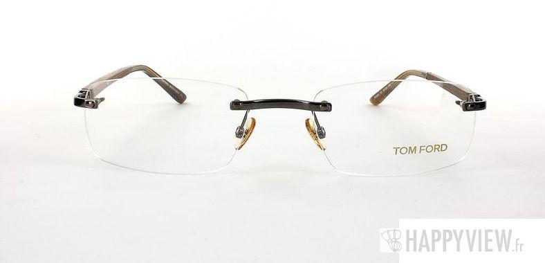Lunettes de vue Tom Ford Tom Ford 5080 Bois marron - vue de face
