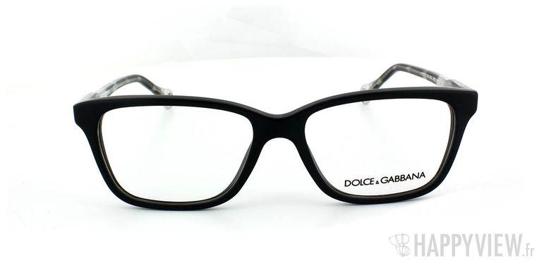 Lunettes de vue Dolce & Gabbana D&G 1238 noir - vue de face