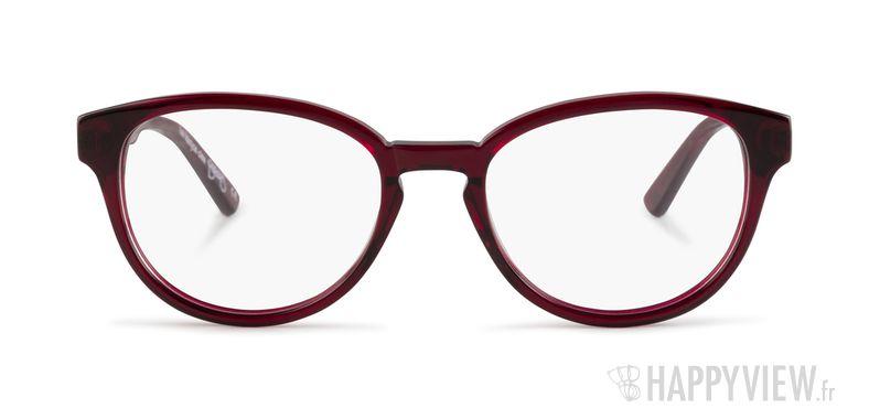 Lunettes de vue Le Temps des Cerises Carmela rouge - vue de face