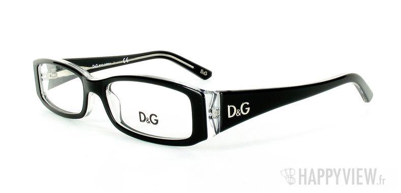 Lunettes de vue Dolce & Gabbana D&G 1179 noir - vue de 3/4