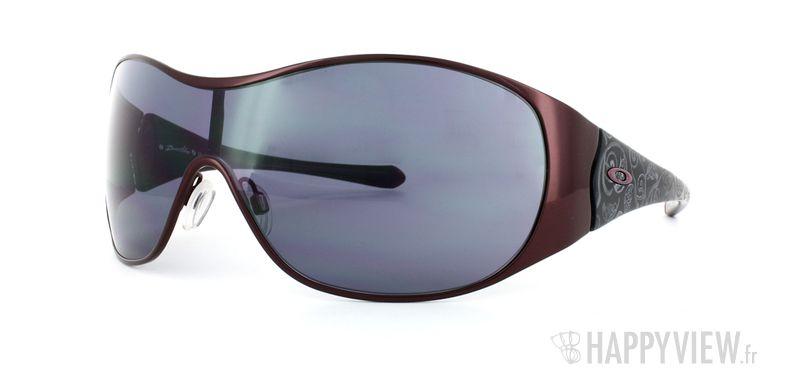Lunettes de soleil Oakley Oakley Breathless bleu - vue de 3/4