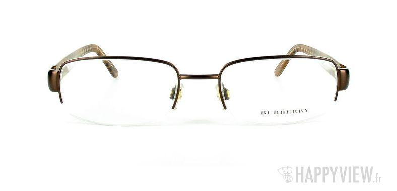 Lunettes de vue Burberry Burberry 1080 marron - vue de face