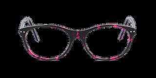 Lunettes de vue Happyview JEANNE rose fabriquées en France