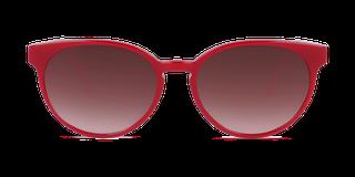 Lunettes de soleil Happyview LOUISE rouge fabriquées en France