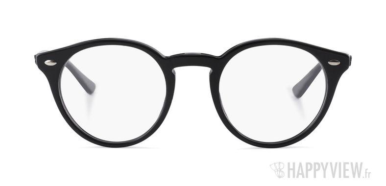 Lunettes de vue Ray-Ban RX 2180V noir - vue de face