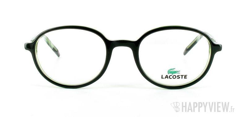 Lunettes de vue Lacoste Lacoste 12034 vert/noir - vue de face