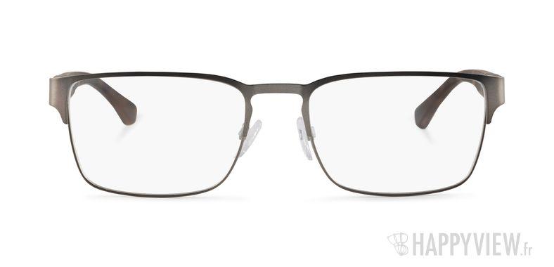 Lunettes de vue Emporio Armani EA 1027 gris/écaille - vue de face