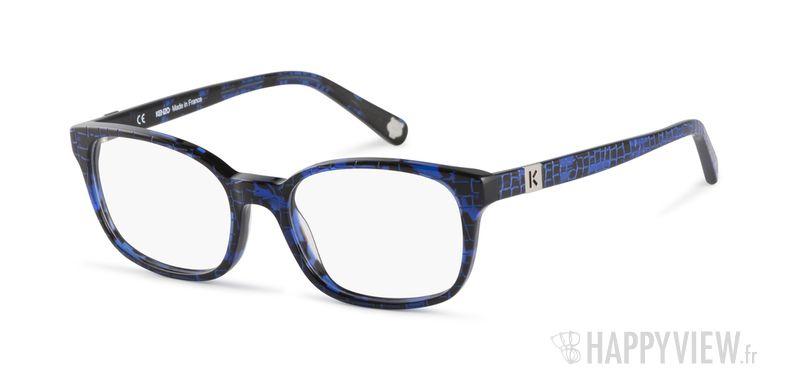 Lunettes de vue Kenzo KZ 2238 bleu - vue de 3/4