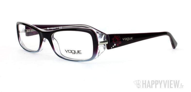Lunettes de vue Vogue Vogue 2693B bleu/gris - vue de 3/4
