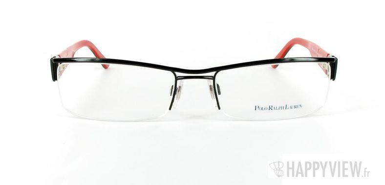 Lunettes de vue Polo Ralph Lauren Polo Ralph Lauren 1058 noir/rouge - vue de face
