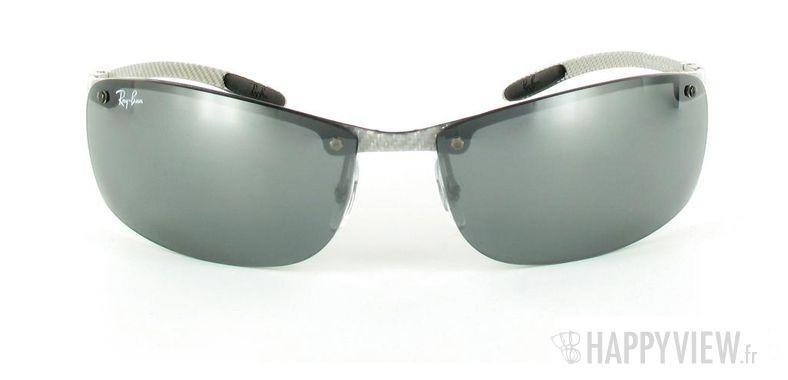 Lunettes de soleil Ray-Ban Ray-Ban Tech RB8305 argenté - vue de face