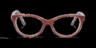Lunettes de vue Happyview GWEN marron fabriquées en France