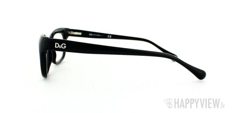 Lunettes de vue Dolce & Gabbana D&G 1232 noir - vue de côté