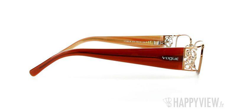 Lunettes de vue Vogue Vogue 3661B marron - vue de côté