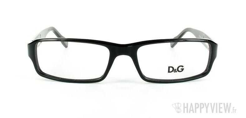 Lunettes de vue Dolce & Gabbana D&G 1188 noir - vue de face