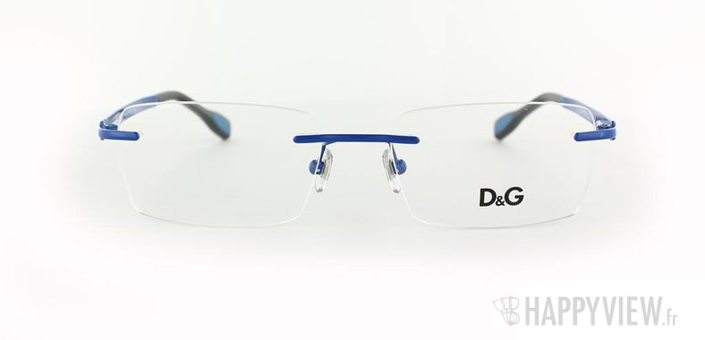 Lunettes de vue Dolce & Gabbana D&G 5106 bleu - vue de face