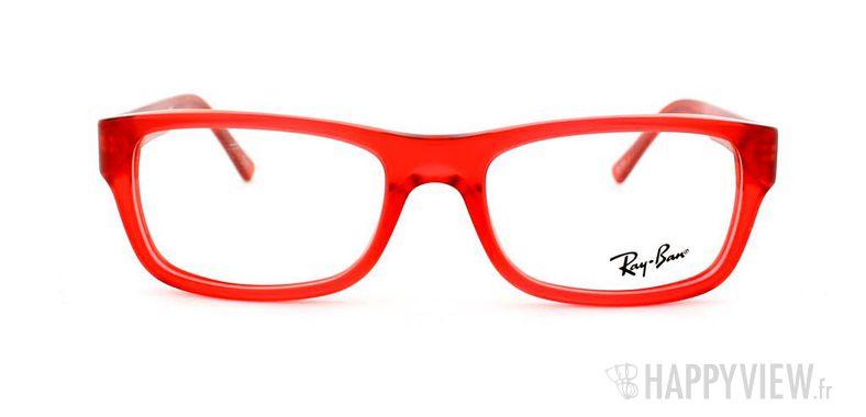 Lunettes de vue Ray-Ban Ray-Ban RX5268 rouge - vue de face