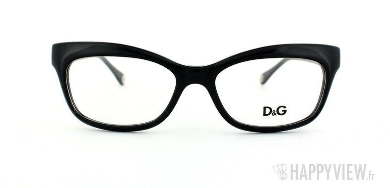 Lunettes de vue Dolce & Gabbana D&G 1232 noir - vue de face