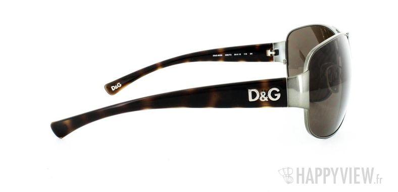 Lunettes de soleil Dolce & Gabbana Dolce&Gabbana 6056 écaille/argenté - vue de côté