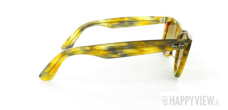 Lunettes de soleil Ray-Ban Ray-Ban Wayfarer Rule Yellow écaille - vue de côté