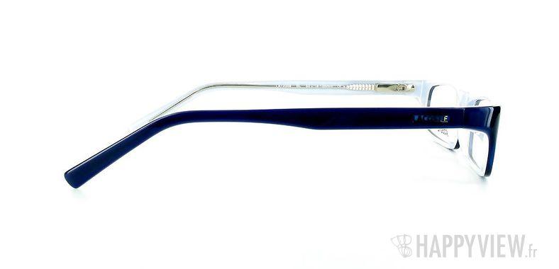 Lunettes de vue Lacoste Lacoste 12009 bleu - vue de côté