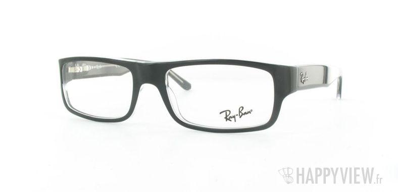 Lunettes de vue Ray-Ban Ray-Ban RX5145 noir - vue de 3/4
