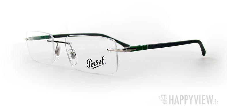 Lunettes de vue Persol Persol 2404V gris/vert - vue de 3/4