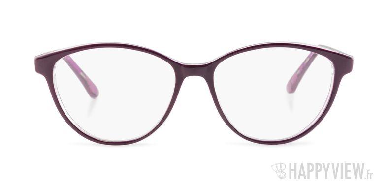 Lunettes de vue Happyview Roanne violet - vue de face