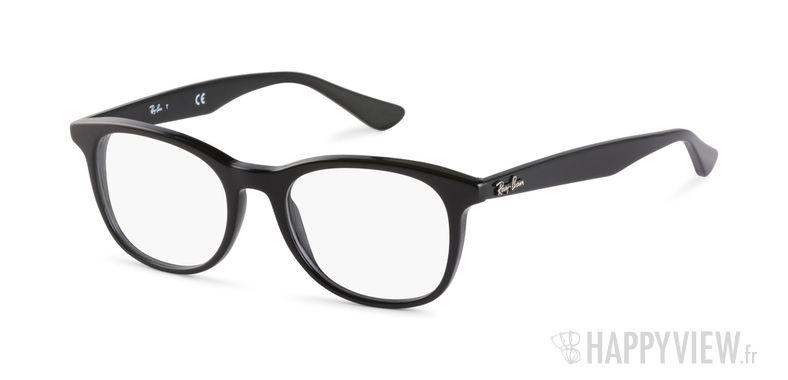 Lunettes de vue Ray-Ban RX 5356 noir - vue de 3/4