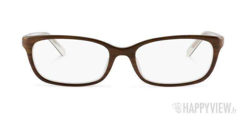 Lunettes de vue Calvin Klein CK 5775 marron - vue de face
