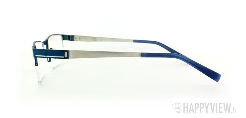 Lunettes de vue Charmant Charmant 10765 Titane bleu/gris - vue de côté